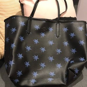 Coach star tote bag